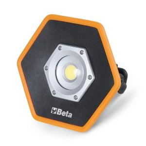 Oplaadbare LED schijnwerper voor bouwplaatsen