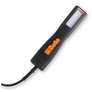 Inspectielamp met extra helder lichtgevende LEDs, 230 V