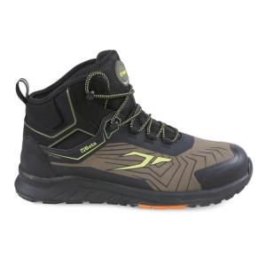 0-Gravity ultralichte enkelhoge microfiber schoen, waterafstotend