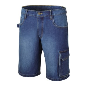 Stretch korte spijkerbroek, 98% katoen, 2% stretch stof, slim fit