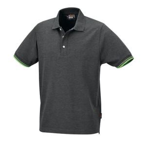 Technisch drieknoops polo shirt