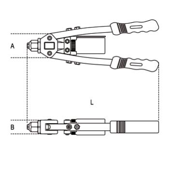 Serbatoio di ricambio per rivettatrice Beta 1740 B330